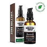 Natürliches Öl für die Rasur: Shaving Oil Rasieröl (50 ml) Naturkosmetik der...