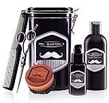 Mr Burtons Bartpflege Set