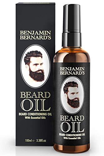 Bartöl - Beard Oil für Männer - Für gesundes Bartwachstum & einen gepflegten...