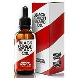 50ml Bartöl von Blackforest Beard Co. - Zedernholz & Minze Duft - natürliche...