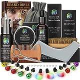 Bartpflege Set für Männer Bart Wachstum Pflege & Trimmen mit Bart Shampoo...