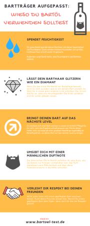 Infografik Wieso Du Bartöl verwenden solltest